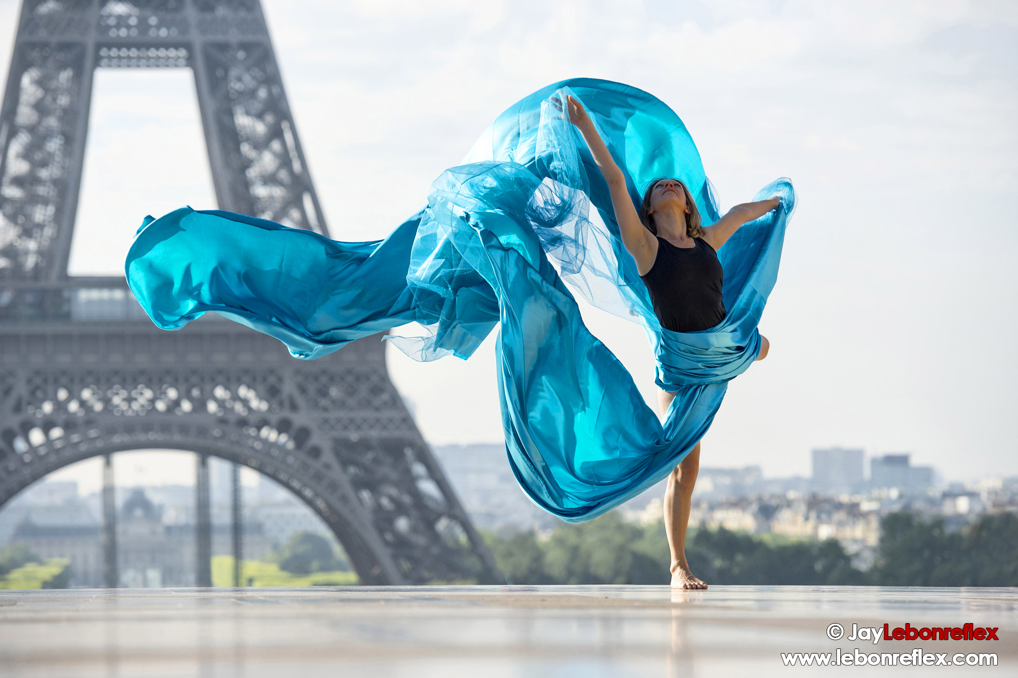 Dance Draped in Paris – Edwige