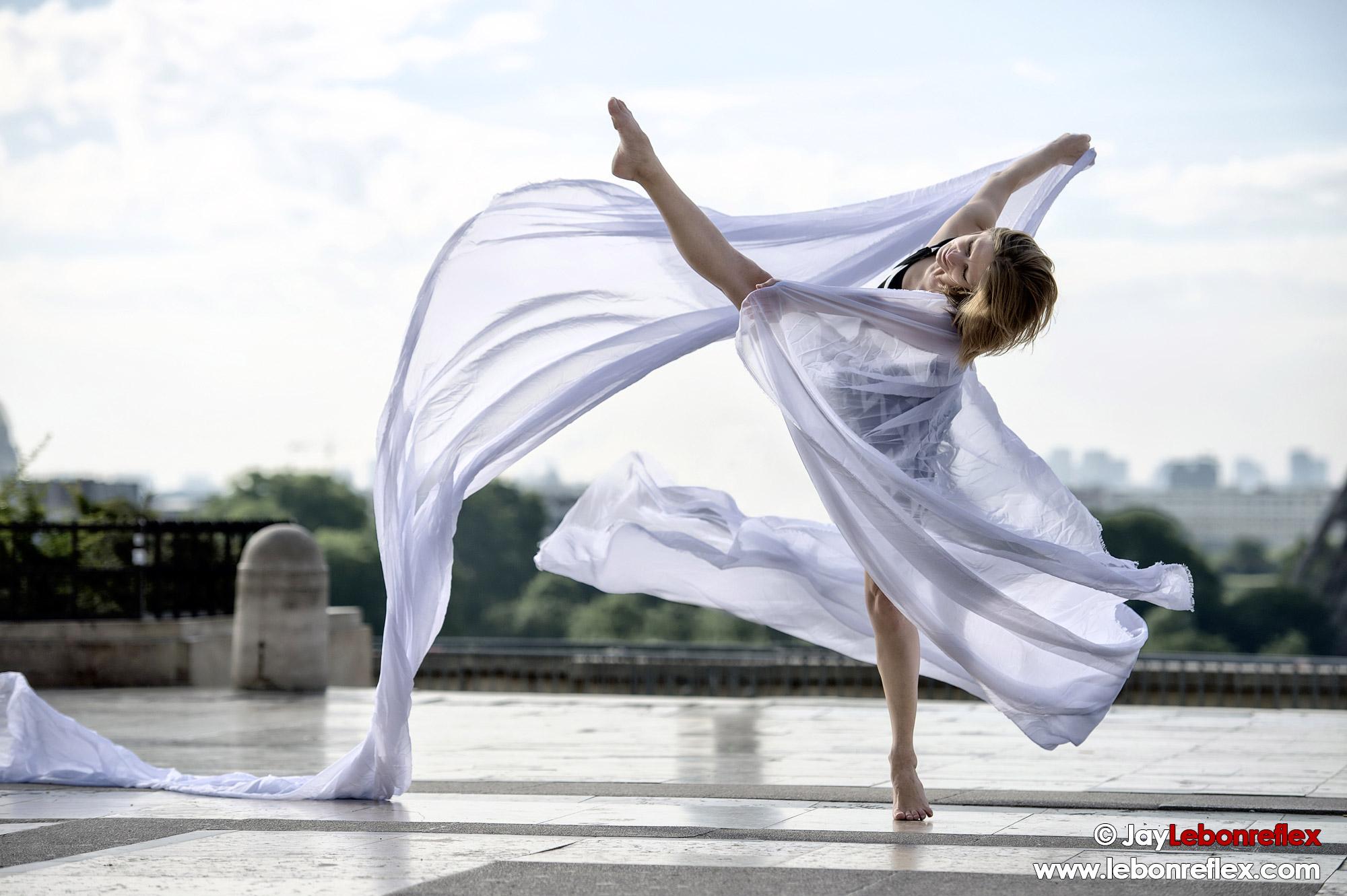 Dance Draped in Paris – Edwige