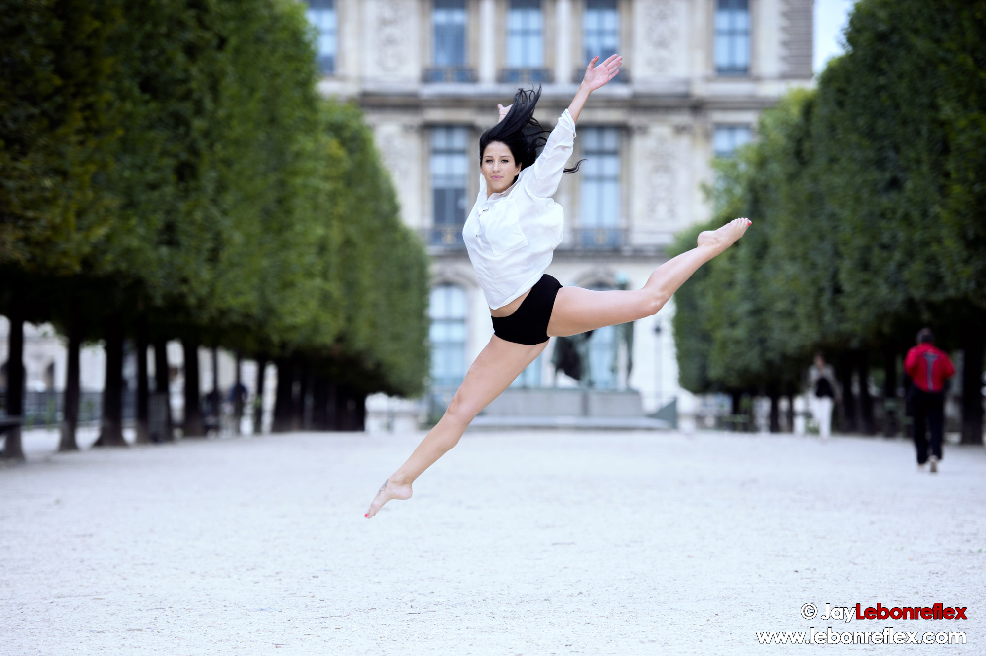 Marion au Jardin des Tuileries – Paris