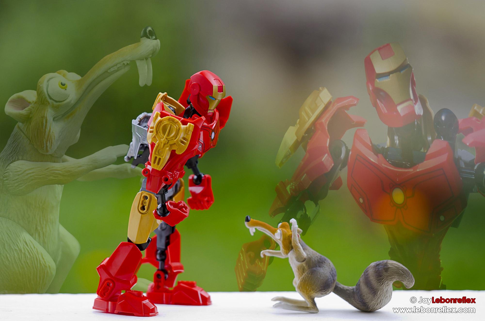 Ironman vs Scrat